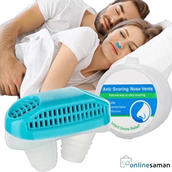 Anti-snore clip