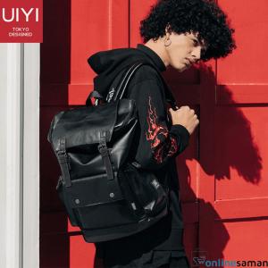 Black Korean Design Leather Bag