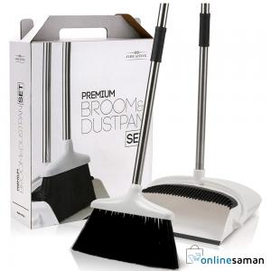 Broom and dustpan set