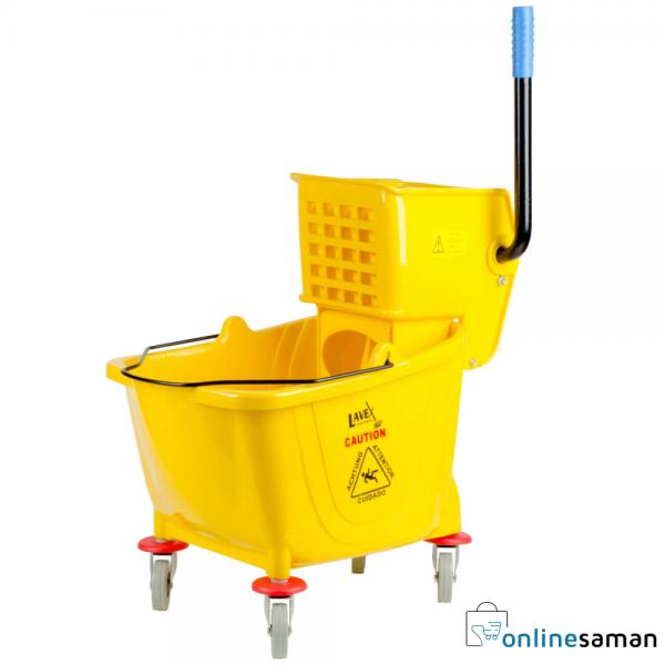 yellow bucket mop Gallery 1