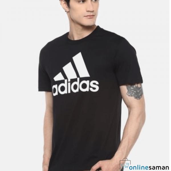 Black adidas t-shirt gallery 1
