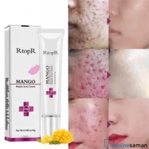 RTOPR Mango Repair Acne Cream Anti Spots Acne Scar Blackhead Cream Shrink Pores Whitening Moisturizing Face Skin Care (15G)
