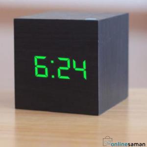 Wooden alram clock